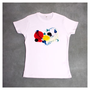 Colour Burst Women's T Shirt