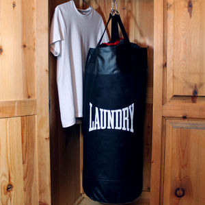 Punch Bag Laundry Bag - bedroom