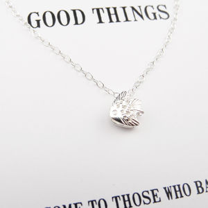 'Good Things' Silver Necklace
