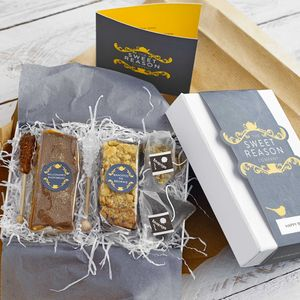 Twelve Months Tea And Two Treats Gift Box - personalised