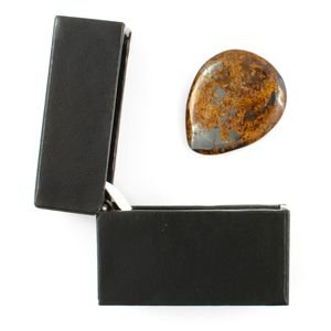 Bronzite Guitar Pick / Plectrum In A Gift Box - plectrums