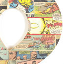 Superhero Comic Giant Wall Art Letter