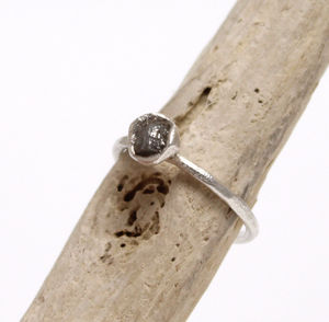 Rough Diamond 'Bud' Ring