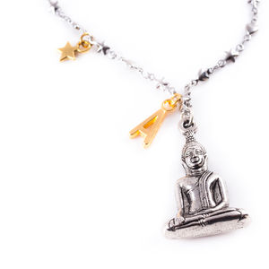 Personalised Buddha Necklace - necklaces & pendants