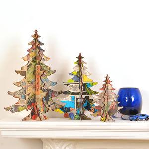 Table Top Alternative Comic Christmas Trees