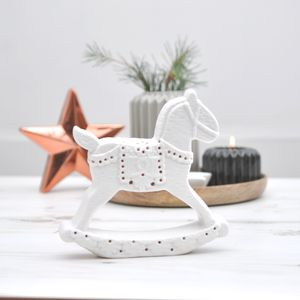 Porcelain Rocking Horse - view all sale items