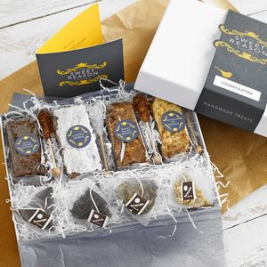 Three Months Tea And Four Sweet Treats Gift Box - cakes & sweet treats