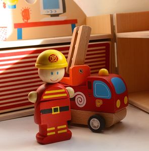 Firestation Mini Playset - pretend play & dressing up