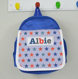 Boys Personalised Pattern Lunch Bag - lunch boxes & bags