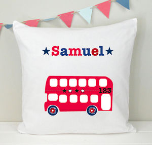 Boy's Personalised Cushion Various Designs