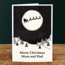 'Christmas Night' Personalised Christmas Card