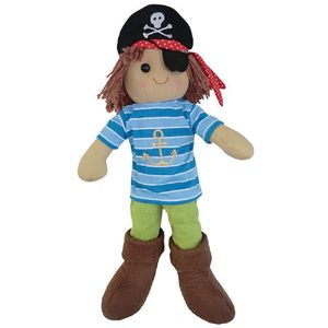 Pirate Rag Doll - keepsakes