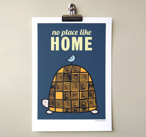 'No Place Like Home' Print - posters & prints