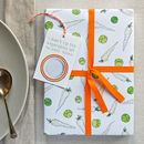Sprouts And Parsnips Wrapping Paper Set