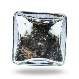 Mirror Glass Knob Isola - home decorating
