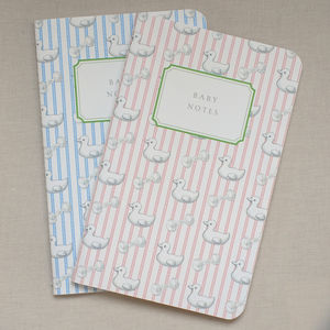 Baby Notes Notebook - keepsakes