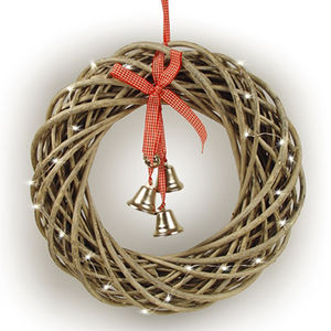 Grey Willow Christmas Wreath - wreaths