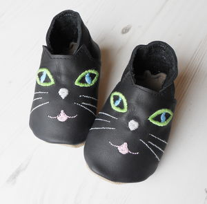 Personalised Cat Baby Shoes