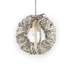 Willow Christmas Light Up Wreath - wreaths