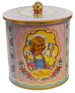 Wu And Wu Cotton Candy Cookie Tin