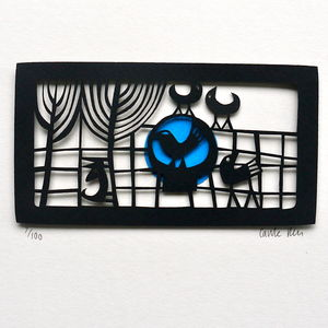 Sharing Limited Edition Papercut