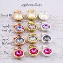 Large Gemstone Charm Colours