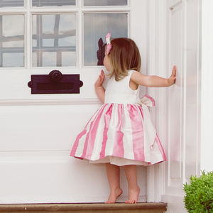 Raspberry Ripple Party Dress - dresses