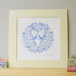 'To Love' Screen Print - contemporary art