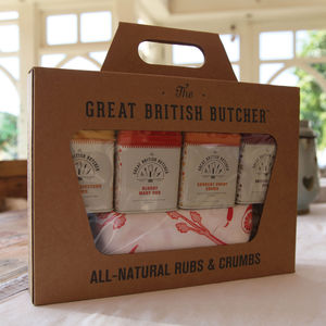 All Natural Rubs And Crumbs Giftset - for foodies