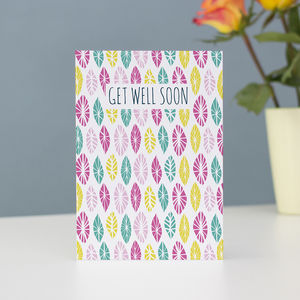 Get Well Soon Notecard - get well soon cards