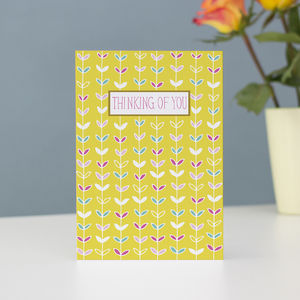 Thinking Of You Notecard - sympathy & sorry cards