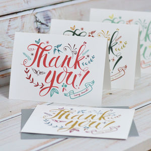 Thank You Cards - thank you cards