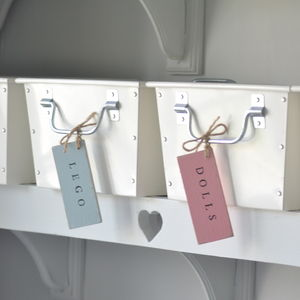 Childrens Tag Storage Organiser Tag