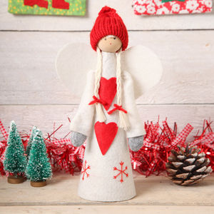 Christmas Angel Freestanding Or Tree Topper - tree toppers