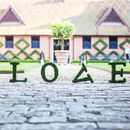 Wedding Real Moss Decorative 'Love' Sign