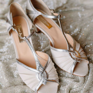 Matilda T Bar Wedding Shoes - bridal shoes