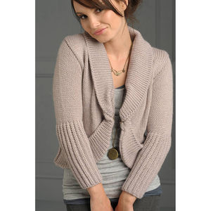 Churchstow Cardigan In Black - jumpers & cardigans