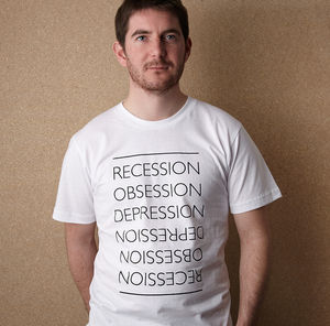 Great Recession T Shirt