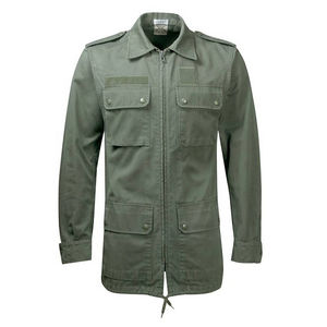 Embroidered Khaki Army Jacket Can Be Personalised - men's fashion