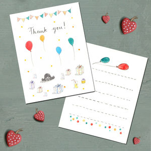 Pirate Party Thank You Cards - thank you cards