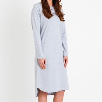 Kate Midi Dress Grey