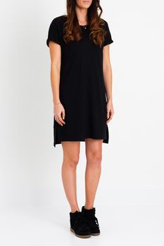 Mia Tee Dress Black