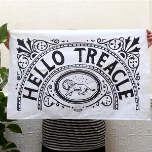 Hello Treacle Cotton Tea Towel