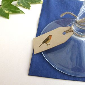 Robin Christmas Tags - cards & wrap