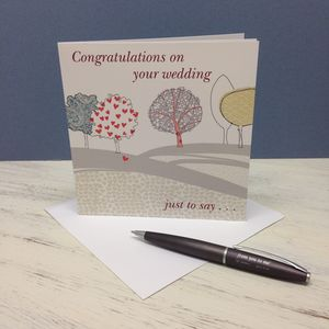 'Congratulations On Your Wedding' Card - view all sale items