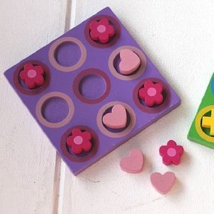 Wooden Purple Party Bag Game
