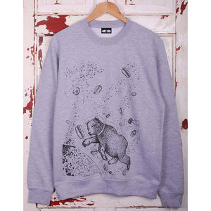 Yum Yum Space Bear Jumper - gifts for him