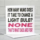 Mum Joke Mother's Day Card