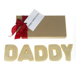 Fathers Day 'Daddy' Shortbread