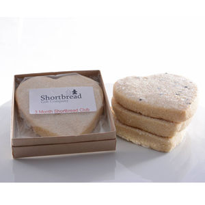 Mothers Day Monthly Shortbread Biscuit Club - gifts to eat & drink
